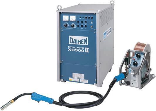 ダイヘン 500A CO2溶接機 XD500 日極レンタル