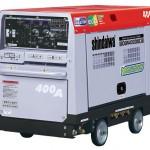 やまびこ産業機械 400A エンジンウェルダ(2人用) 日極レンタル