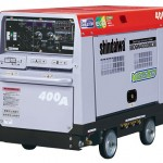 やまびこ産業機械 400A エンジンウェルダ(2人用) 月極レンタル